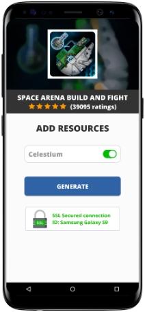 Space Arena Build and Fight MOD APK Screenshot