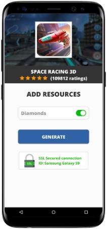 Space Racing 3D MOD APK Screenshot