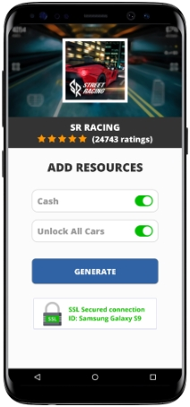 SR Racing MOD APK Screenshot