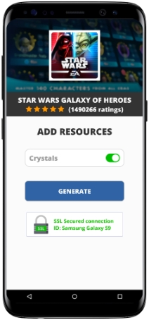 Star Wars Galaxy of Heroes MOD APK Screenshot