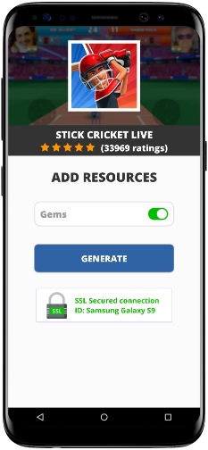 Stick Cricket Live MOD APK Screenshot