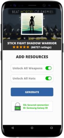 Stick Fight Shadow Warrior MOD APK Screenshot