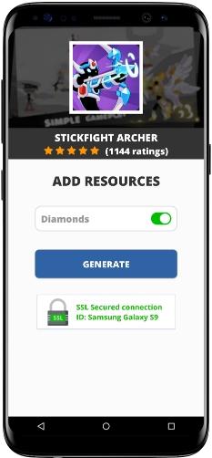 Stickfight Archer MOD APK Screenshot