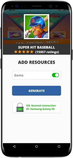 Super Hit Baseball MOD APK Screenshot