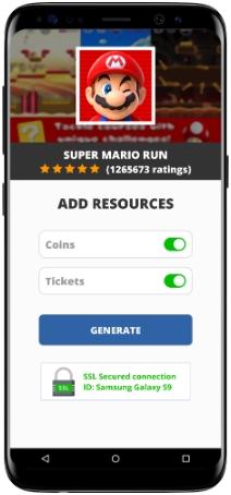 Super Mario Run MOD APK Screenshot