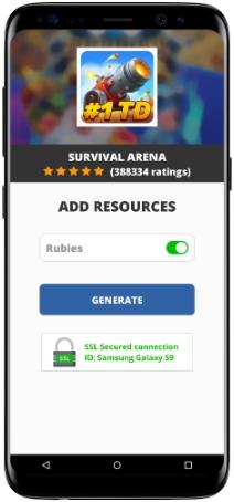 Survival Arena MOD APK Screenshot