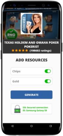 Texas Holdem and Omaha Poker Pokerist MOD APK Screenshot