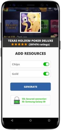 Texas HoldEm Poker Deluxe MOD APK Screenshot