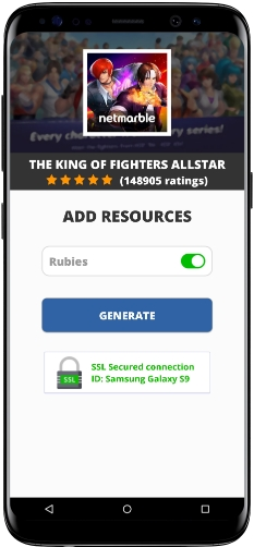 The King Of Fighters Allstar Mod Apk Unlimited Rubies