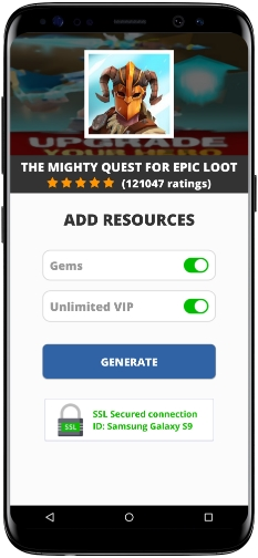 The Mighty Quest for Epic Loot MOD APK Screenshot
