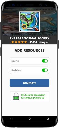 The Paranormal Society MOD APK Screenshot