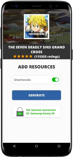 The Seven Deadly Sins Grand Cross MOD APK Screenshot