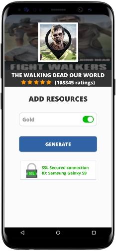 The Walking Dead Our World MOD APK Screenshot