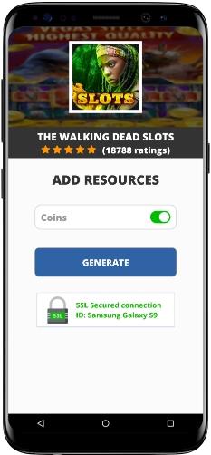 The Walking Dead Slots MOD APK Screenshot