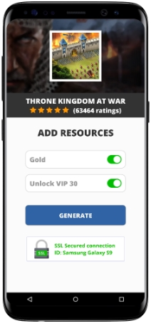 Throne Kingdom at War MOD APK Screenshot