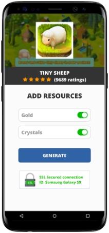 Tiny Sheep MOD APK Screenshot