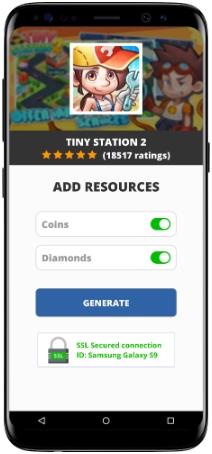 Tiny Station 2 MOD APK Screenshot