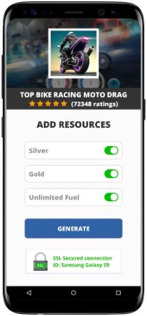 Top Bike Racing Moto Drag MOD APK Screenshot