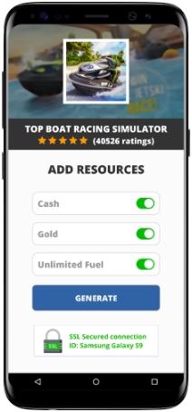 Top Boat Racing Simulator MOD APK Screenshot