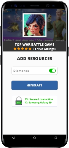 Top War Battle Game MOD APK Screenshot