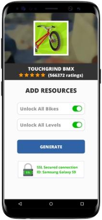 Touchgrind BMX MOD APK Screenshot