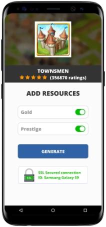 Townsmen MOD APK Screenshot