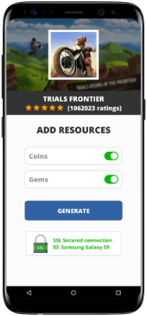 Trials Frontier MOD APK Screenshot