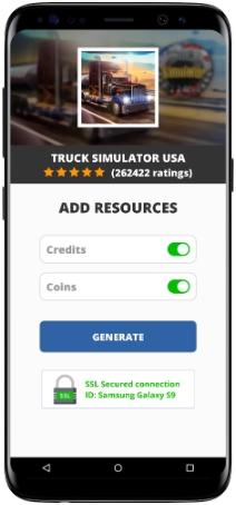 Truck Simulator USA MOD APK Screenshot