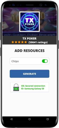 TX Poker MOD APK Screenshot