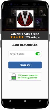 Vampires Dark Rising MOD APK Screenshot