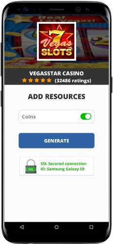 VegasStar Casino MOD APK Screenshot