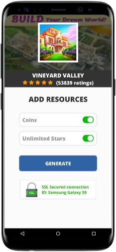Vineyard Valley MOD APK Screenshot