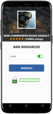 War Commander Rogue Assault MOD APK Screenshot