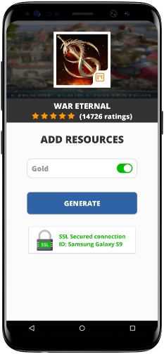 War Eternal MOD APK Screenshot