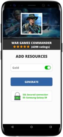 War Games Commander MOD APK Screenshot