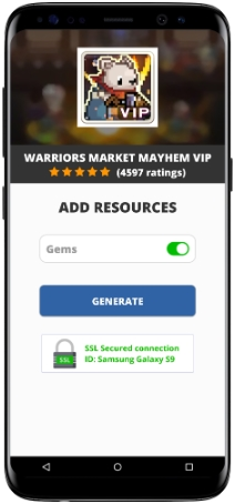 Warriors Market Mayhem VIP MOD APK Screenshot