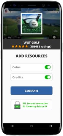 WGT Golf MOD APK Screenshot