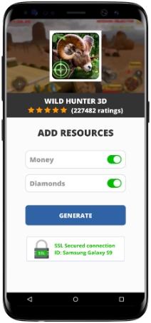 Wild Hunter 3D MOD APK Screenshot