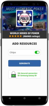 World Series of Poker MOD APK Screenshot