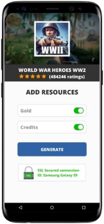 World War Heroes WW2 MOD APK Screenshot