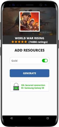 World War Rising MOD APK Screenshot