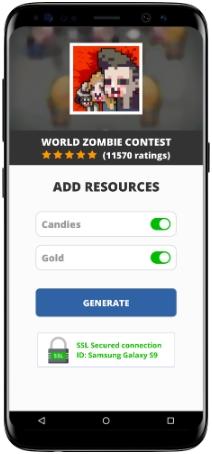 World Zombie Contest MOD APK Screenshot