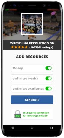 Wrestling Revolution 3D MOD APK Screenshot