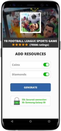 Y8 Football League Sports Game MOD APK Screenshot