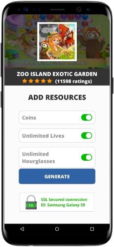 Zoo Island Exotic Garden MOD APK Screenshot