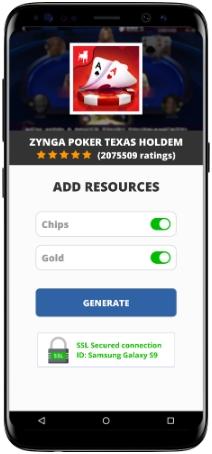 Zynga Poker Texas Holdem MOD APK Screenshot